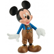 Mickey Mouse & Friends - Figurine Mickey bavarois cuir 7 cm