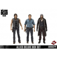 The Walking Dead - Pack 3 figurines Alliés 13 cm