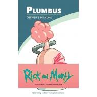 Rick et Morty - Carnet de notes Plumbus