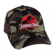 Jurassic Park - Casquette baseball Camouflage Logo