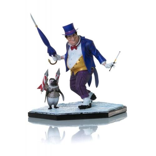 DC Comics - Statuette Art Scale Deluxe 1/10 The Penguin 18 cm