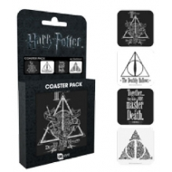 Harry Potter - Pack 4 sous-verres Deathly