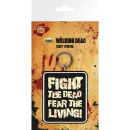 The Walking Dead - Porte-clés Fight The Dead 7 cm