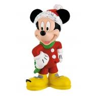 Mickey Mouse & Friends - Figurine Mickey Christmas 7 cm