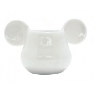 Mickey Mouse - Coquetier 3D Blanc