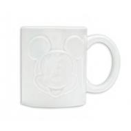 Mickey Mouse - Mug Relief Blanc