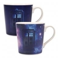 Doctor Who - Mug effet thermique Galaxy