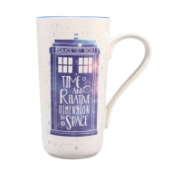 Doctor Who - Mug Latte-Macchiato Galaxy