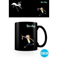 Rick et Morty - Mug effet thermique Portals