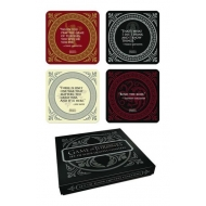 Game of Thrones - Set 4 sous-verres Quotes