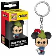 Mickey Mouse 90th Anniversary - Porte-clés Pocket POP! Brave Little Tailor Mickey 90th Anniversary 4 cm