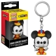 Mickey Mouse 90th Anniversary - Porte-clés Pocket POP! Band Concert Mickey 4 cm