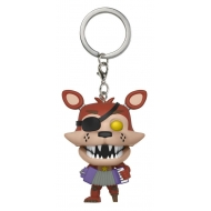 Five Nights at Freddy's Pizzeria Simulator - Porte-clés Pocket POP! Rockstar Foxy 4 cm