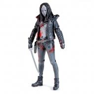 The Walking Dead - Figurine Michonne (Bloody B&W) 15 cm