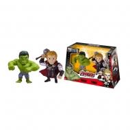 Marvel - Figurines Metals Die Cast Thor & Hulk 10 cm