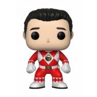Power Rangers - Figurine POP! Red Ranger (No Helmet) 9 cm