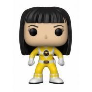 Power Rangers - Figurine POP! Yellow Ranger (No Helmet) 9 cm