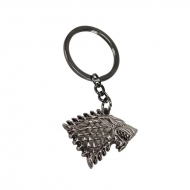 Game of Thrones - Porte-clés métal Stark 7 cm