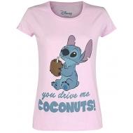 Lilo & Stich - T-Shirt femme Drive Me Coconuts
