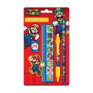 Super Mario - Set papeterie 5 pièces