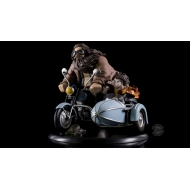 Harry Potter - Diorama Q-Fig MAX Harry Potter & Rubeus Hagrid 15 cm