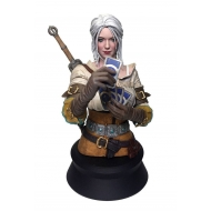 The Witcher 3 Wild Hunt - Buste Ciri Playing Gwent 20 cm