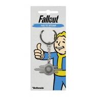 Fallout - Porte-clés métal Vault-Tec