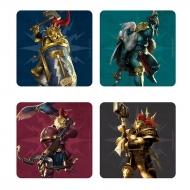 Warhammer Age of Sigmar - Pack 4 sous-verres 3D Stormcast