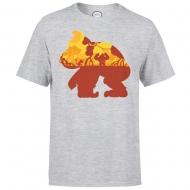 Nintendo - T-Shirt Donkey Kong Silhouette Mangrove
