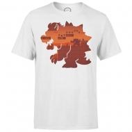Nintendo - T-Shirt Bowser Silhouette