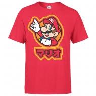 Nintendo - T-Shirt Mario Kanji