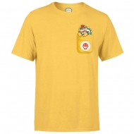 Nintendo - T-Shirt Bowser Pocket