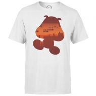 Nintendo - T-Shirt Goomba Silhouette