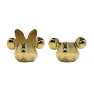 Mickey Mouse - Salière et poivrière Deluxe 3D Or