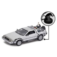 Retour vers le Futur II - Réplique métal 1/24 DeLorean LK Coupe 1981Fly Wheel