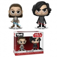 Star Wars - Pack 2 figurines Rey & Kylo 10 cm