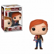 Spider-Man - Figurine POP! Mary Jane with Plush 9 cm