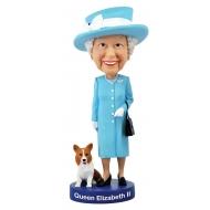 Célébrité - Figurine Bobble Head Queen Elizabeth II 20 cm