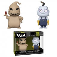L'étrange Noel de Mr. Jack - Pack 2 figurines Oogie Boogie & Behemoth 10 cm