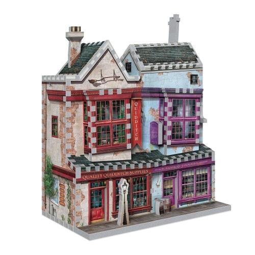 Harry Potter - Puzzle 3D Quidditch Supplies & Slug & Jiggers Apothecary