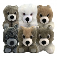 Game of Thrones - Pack 6 peluches bébés Loups SDCC 2018 Exclusive 20 cm