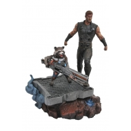 Avengers Infinity War - Statuette Premier Collection Thor & Rocket Raccoon 30 cm