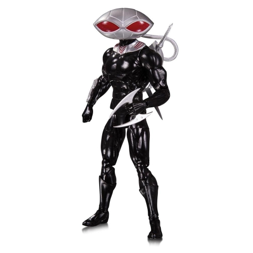 DC Essentials - Figurine Black Manta 17 cm