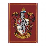 Harry Potter - Panneau métal Gryffindor 21 x 15 cm
