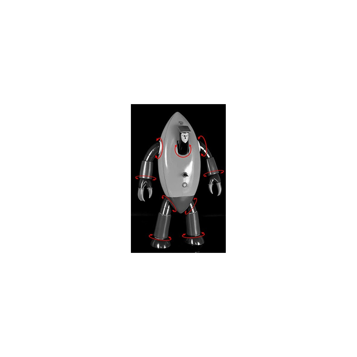 Dragon Ball MIGHTY MASK gomma//plastica morbida misura cm 5,7