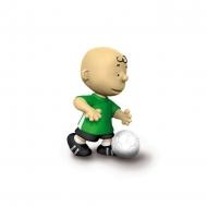 Snoopy - Figurine Charlie Brown Footballeur 5 cm