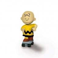 Snoopy - Figurine Charlie Brown Skateboarder 6 cm