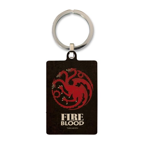Game of Thrones - Porte-clés métal Targaryen 6 cm