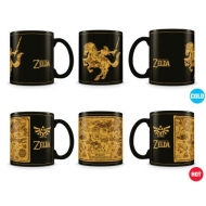 The Legend of Zelda - Mug effet thermique Map Silhouette