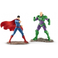 Justice League - Pack 2 figurines Superman vs. Lex Luthor 10 cm